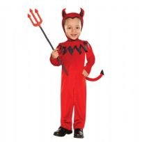Child's Devil Fancy Dress Costume - Age 3 - 4 Years
